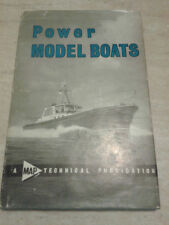 Vic Smeed - POWER MODEL BOATS - 1972 - Model & Allied Publications