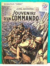 """rom popu coll Patrie récit complet ill """"souvenirs d'un commando"""" Rouff 1949"""