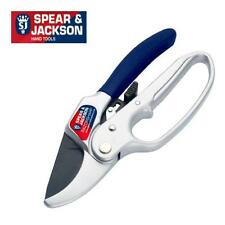SPEAR AND JACKSON RAZORSHARP RATCHET ANVIL SECATEUR WITH LOOP HANDLE 6358RS NA69