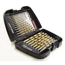 Craftsman 21 pc. Professional Titanium Coated Drill Bit Set # 64072 Split point