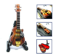 1/12 Dollhouse Miniature Electric Guitar Musical Instrument Music Figure Boxed