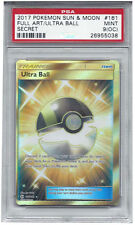 PSA 9 (OC) Ultra Ball Off Center Miscut 161/149 Sun and Moon Graded Pokemon