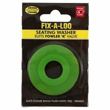 Fix-A-Loo Seating Washer Suits Fowler 'K' Valve - Green