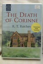 The Death of Corrine by R T Raichev: Unabridged Cassette Audiobook (SS5)