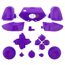 Purple Full Buttons Kits Dpad RT LT RB LB Replacement For Xbox One Controller