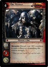 LoTR TCG RoTEL Realms of the Elf Lords Orc Veteran FOIL 3U100