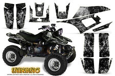 YAMAHA WARRIOR 350 GRAPHICS KIT CREATORX DECALS STICKERS INFERNO S