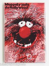 Muppet Movie (Poland) FRIDGE MAGNET movie poster animal polish