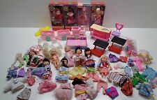 Mattel KELLY BARBIE'S LITTLE SISTER DOLLS FURNITURE CLOTHES SHOES LOT SOME NIP