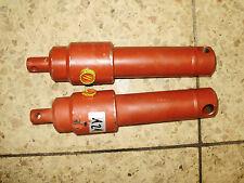 2x Einfachw. Hydraulikzylinder Hubzylinder ca. max. 34cm gesamtl. u. 10cm HUB