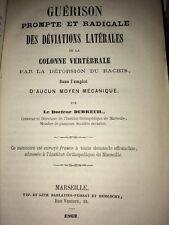 GUÉRISON DES DÉVIATIONS LATÉRALES DE LA COLONNE VERTÉBRALE