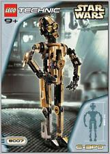 INSTRUCTIONS ONLY LEGO C-3PO 8007 Star Wars Technic droid from set