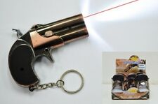 Keychain Antique Pistol With LED Light