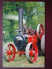 POSTCARD ROAD MARSHALL TRACTION ENGINE NO 15391