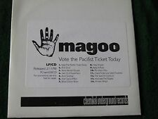 MAGOO. Vote The Pacifist Ticket Today ( CD Promo Album)