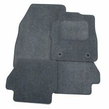 Perfect Fit Grey Carpet Car Floor Mats Set to fit Citroen C1 2005+ with 1 Fixing