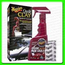 Meguiars Quik Clay kit Detailing System [G1116] Quick Detailer + Clay Bar     2P