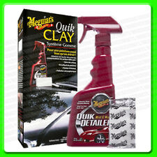 Meguiars Quik Clay kit Detailing System [G1116] Quick Detailer + Clay Bar