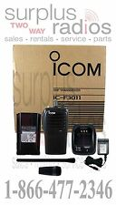 Icom F3011 41 RC Police Fire Ham Racing Business 16CH 5W VHF 136-174MHZ RADIO