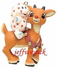 Rudolph & Polka Dot Elephant  American Greetings Ornament