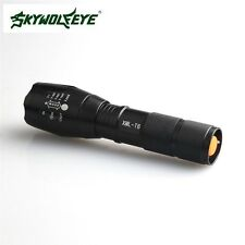 New Powerful 10000LM 5 mode CREE XML T6 LED 18650 Flashlight Focus Zoomable Lamp