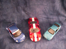Ford GT, BMW645C and VW Beetle Diecast Cars Set of 3