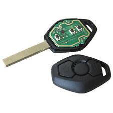 New Fits BMW E46 E39 3 5 7 Series Z3 3 BUTTON Remote Key FOB 433MHz