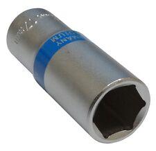 Douille de vissage 3/8  6 pans 17mm longue profonde qualité professionnelle CrV