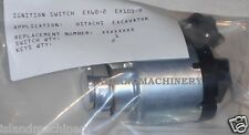 HITACHI  EXCAVATOR STARTING/IGNITION SWITCH FOR EX60-2 EX100-2 COMES WITH 2 KEYS