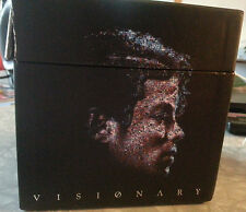 Visionary: The Singles Set 1 [Box] by Michael Jackson (CD, Jun-2006, 5 Discs, Ep