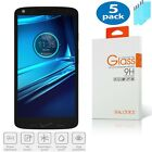 5x NX For Motorola Moto Droid Turbo 2 Premium Tempered Glass Screen Protector