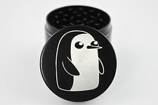 "Adventure Time Penguin 2.2"" Laser Etched 4 Piece Herb Grinder"