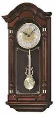 *BRAND NEW* Seiko Black Oak Case Pendulum Clock Watch QXH004BLH