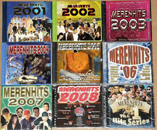 9 Different MERENGUE CD's MERENHITS 2001 - 2009 -  New & Factory Sealed