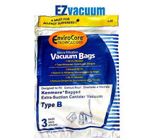 Kenmore Type B Micro-Filtration Canister Vacuum Cleaner Bags - 3 Pack # 24196
