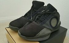 Nike Air Jordan 2010 sz 9 black/dark charcoal/varsity red pre-owned