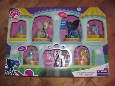 My Little Pony MIDNIGHT in CANTERLOT includes 7 Ponies with 15 Accessories NEW