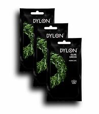 DYLON Olive Green Hand Fabric Dye 3 Pack