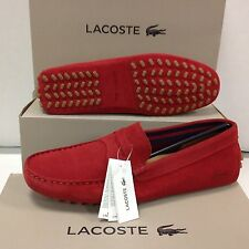 Lacoste Concours 116 Suede Men's Slip on Loafers Shoes, Size UK 8 / EU 42