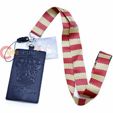 Harry Potter Gryffindor Lanyard ID Pocket Key Chain Card Holder