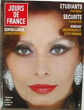 Jours de France n°1667 - 1986 - Sophia Loren - Pearl Harbor -Tour de France Golf