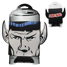 STAR TREK Licensed SPOCK vulcan Ears CAN Hugger COOLER Cozy Keep It COLD! Nimoy