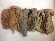 Ghillie Suit Synthetic Material /Synthetic Jute/Airsoft, Hunting,Tactical Tans