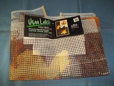 Vintage Bucilla Vera Latch Hook Rug Pattern Canvas 24x36 Oriental Flower #6914