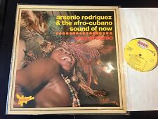 ARSENIO RODRIGUEZ SOUND OF NOW VIVA FRANCE PANACHE BANG 820179
