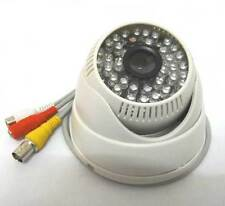 """1/3"""" 700TVL Sony CCD IR Color CCTV Camera Wide Angle with Audio Security 3.6mm"""