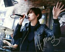 Autographed Hayley Mary Lead Vocalist of The Jezabels 8x10 Photo 3