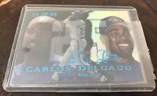 1999 Fleer Flair Showcase  Legacy Collection CARLOS DELGADO 55/99 Row 1