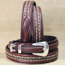 38 inch TONY LAMA WESTERN BROWN LEATHER DON DIEGO RANGER BELT
