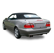W208 Mercedes Benz CLK Series 1999-2003 Convertible Soft Top Black German Canvas